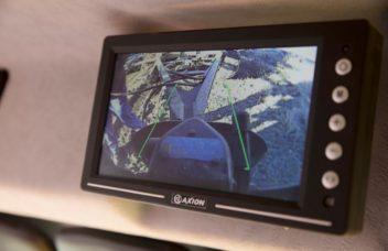 Unimog Bildschirm