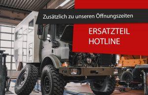 Ersatzteil Hotline