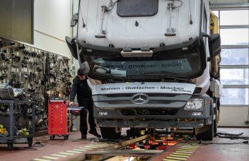 Reparatur, Service an Mercedes-Benz Actross