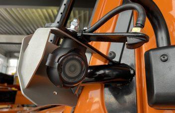 Kamera mit Schutzgehäuse