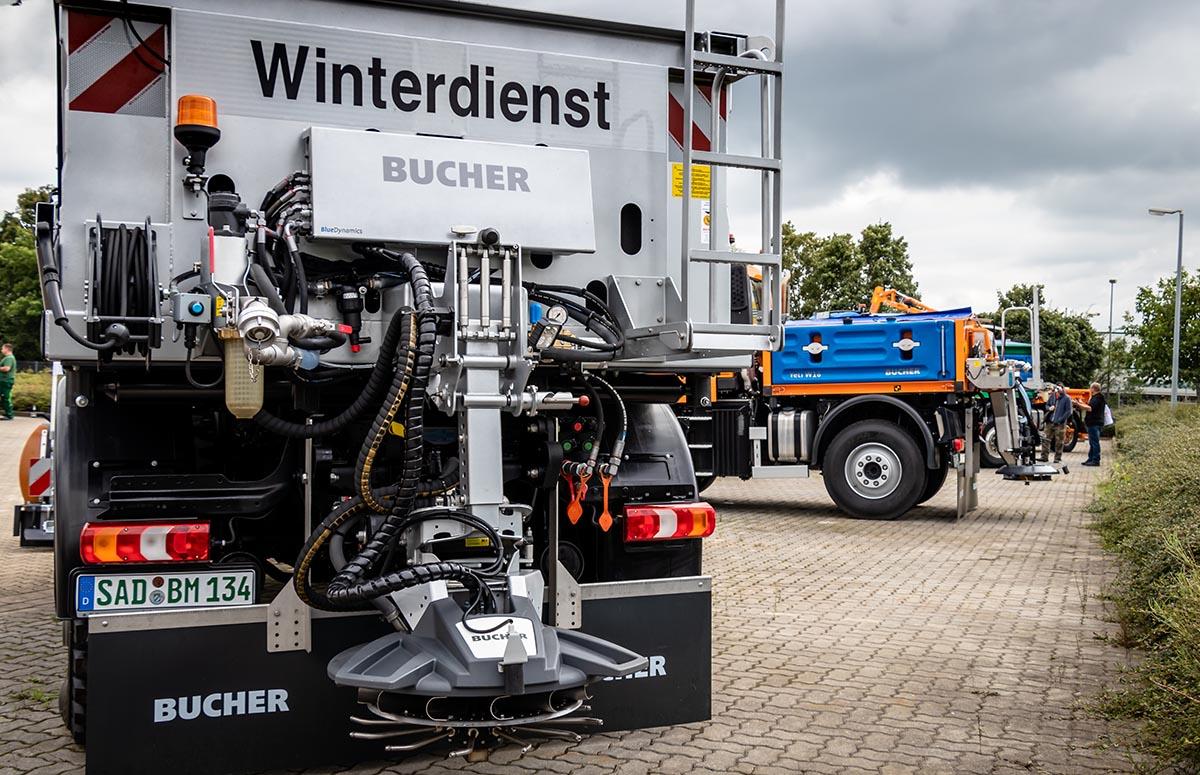 Kommunaltage 2021, U 530 mit Bucher Winterdienstausrüstung
